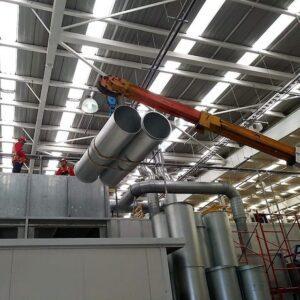 Fabricación de sistemas de HVAC Macrofilter Ductos Grammer