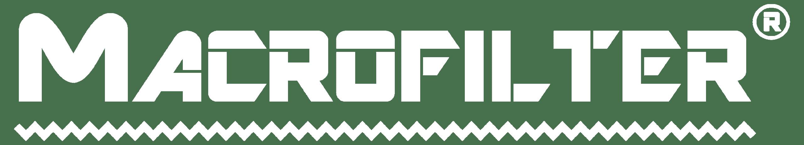 Logotipo blanco Macrofilter